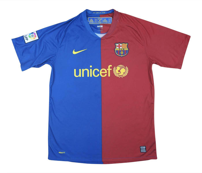 Barcelona 2008-09 Home Shirt (Excellent) M