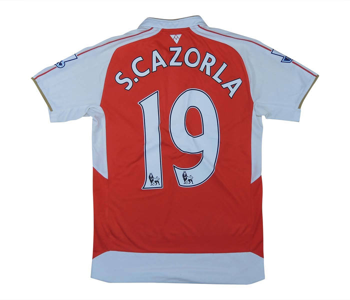 Arsenal 2016-17 Home Shirt Cazorla #19 (Excellent) XS