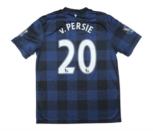 Manchester United 2013-14 Away Shirt V.Persie #20 (Excellent) L