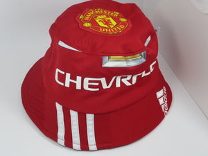 Manchester United 2015-16 Home Shirt Bucket Hat (Excellent) One Size