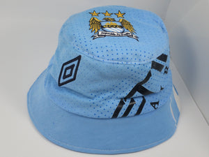 Manchester City 2011-12 Home Shirt Bucket Hat (Excellent) One Size
