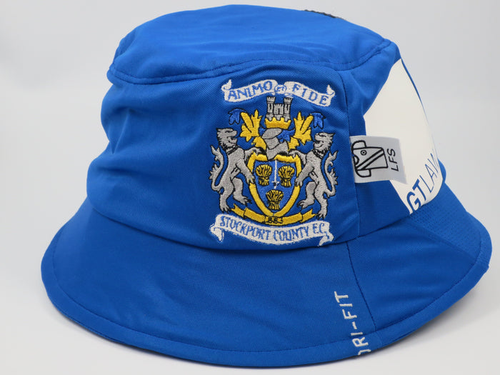 Stockport County 2012-13 Home Shirt Bucket Hat (Excellent) One Size