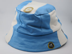 Argentina 2010-11 Home Shirt Bucket Hat (Excellent) One Size