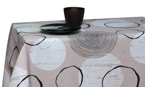 My Jolie Home Tablecloth, Stain Resistant, Spill Proof, Liquid Spills Shell