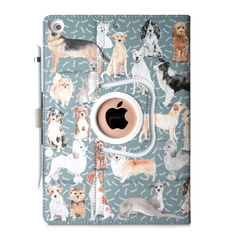 Thankscase Case for iPad 8th Generation / iPad 10.2 / iPad 7th Generation-Bones Light