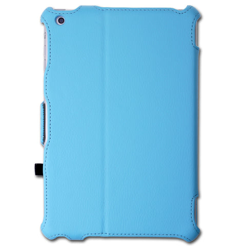 for iPad Mini Leather with Microfiber Case Cover with Smart Cover Function.