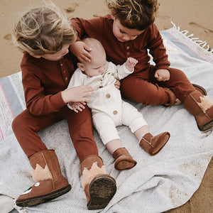 Flannel Flower | Onesie | RU