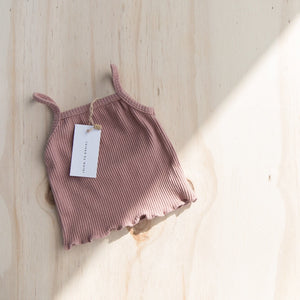 Mauve | Lettuce Trim Tank | Raised By Water