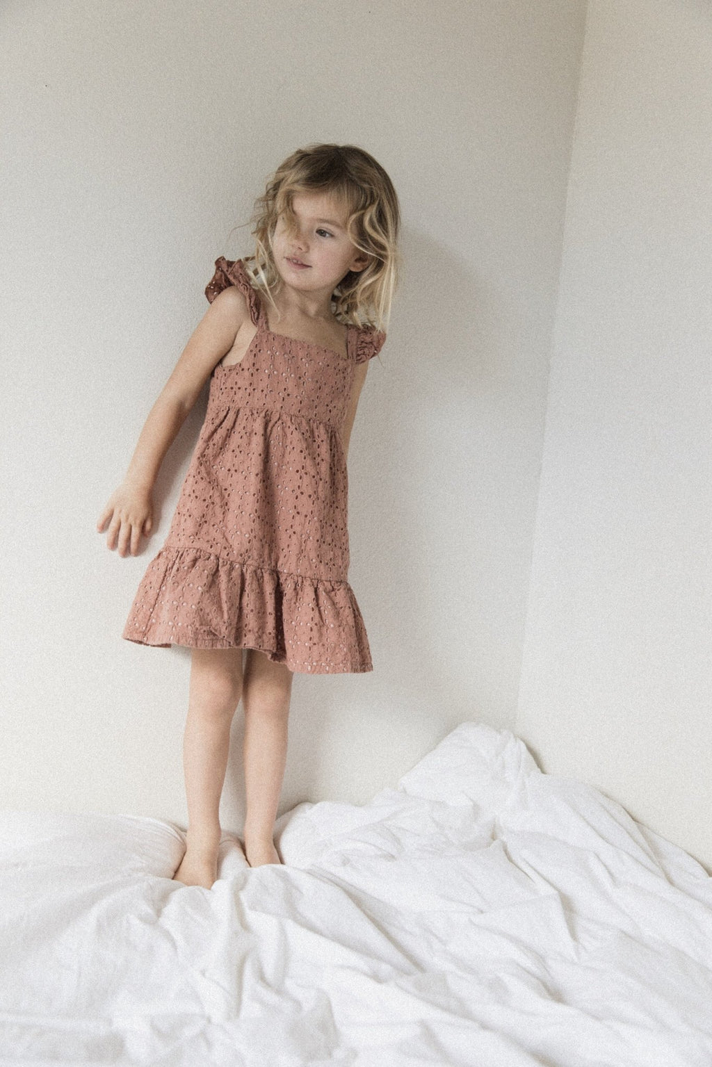 Dusty Rose | Poipu Dress | Raised By Water