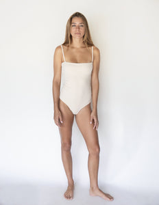 Sand | Women's Essential Bodysuit | Raised By Water