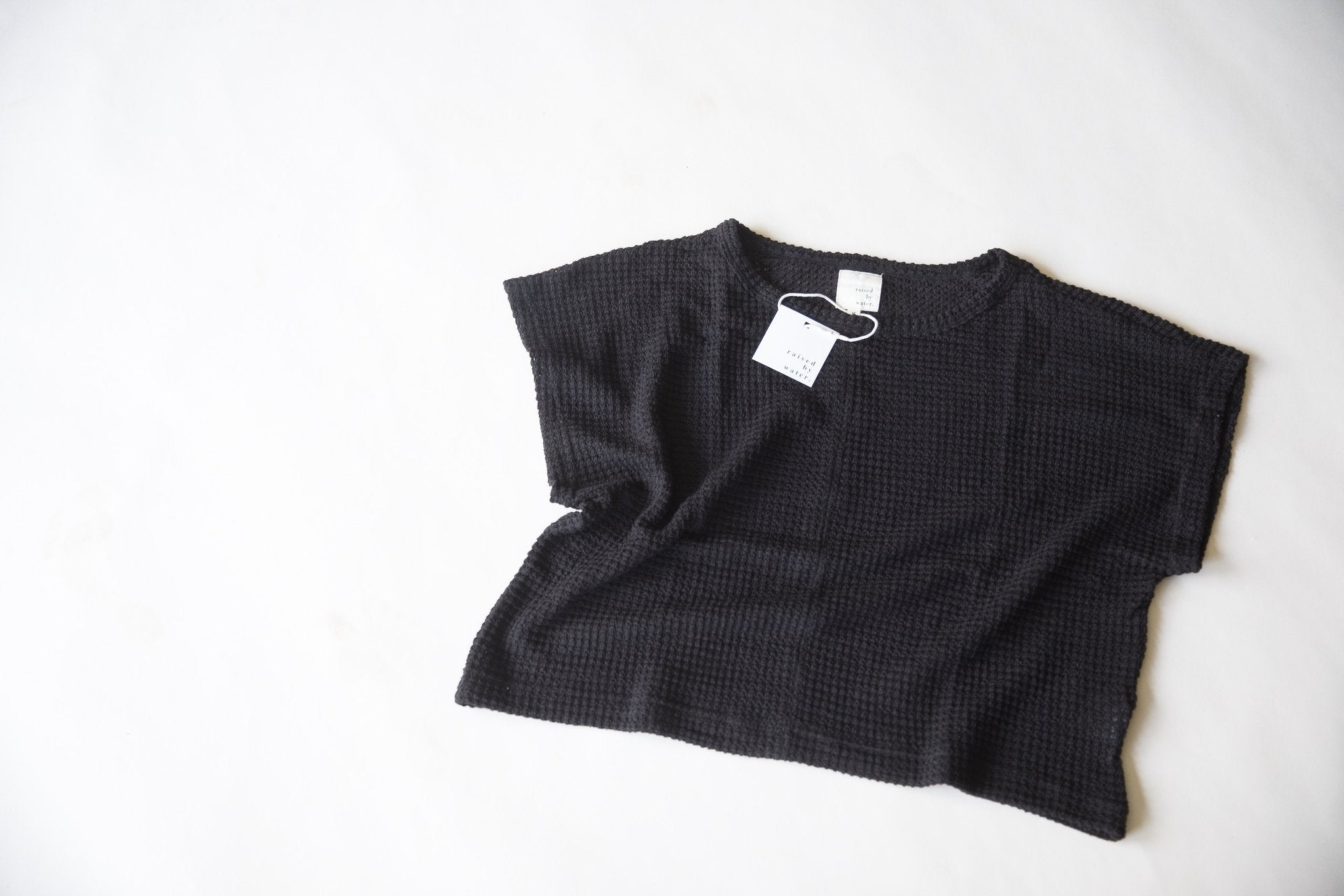 Black | Women's Lounge Top | Raised By Water