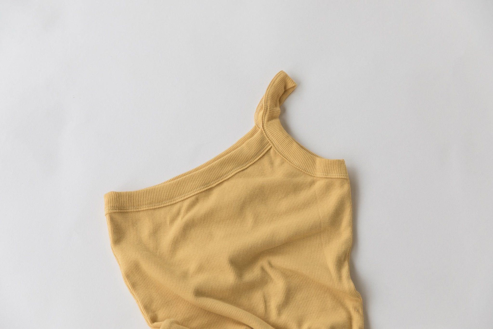 Yellow | Kids One Strap Body Suit | Raised By Water