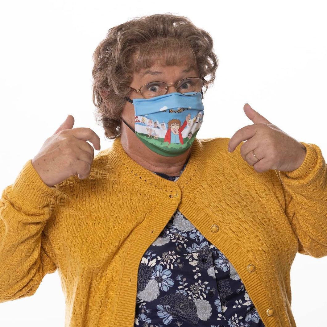 Mrs. Brown's Boys Cast Face Mask