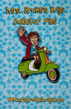 Load image into Gallery viewer, Mrs. Brown Scooter Pin
