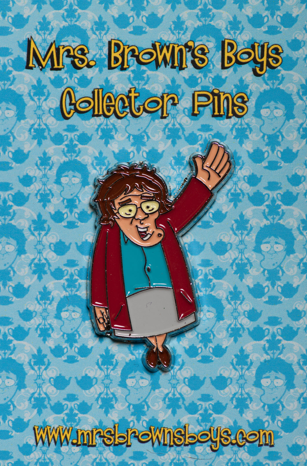 Mrs. Brown Waving Pin