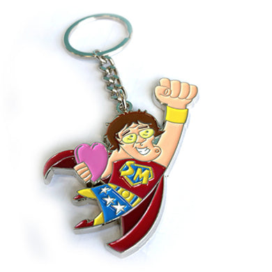 Mrs. Brown Super Mammy Key Chain