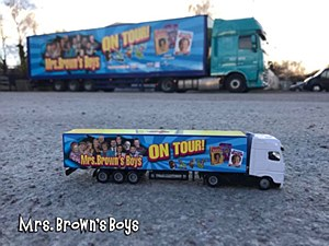 Mrs. Brown's Boys Collector Tour Truck