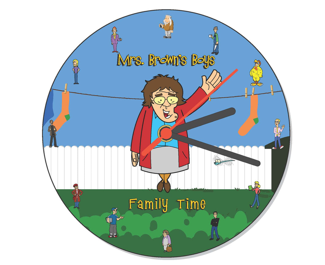 Mrs. Brown's Boys Wall Clock