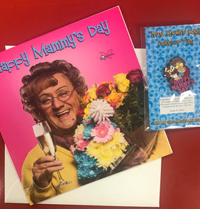 Agnes' Mother's Day set (Pin & Greeting Card)