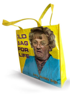 "Mrs. Browns Boys Tote Bag ""Old Bag for Life"""