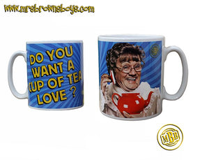 Mrs. Brown Cup of Tea Love Mug
