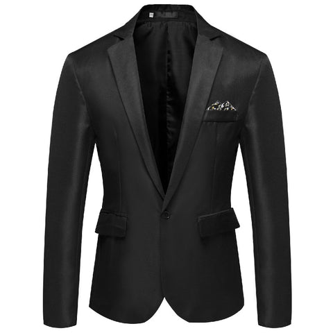 New Men Handsome Young Small Suit Slim Fit Blazer Men Fashion Business