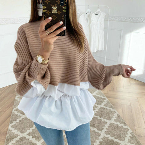 Sweater And Blouse- Women's Fashion