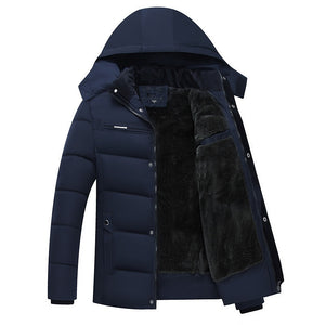 Jacket New  Hooded Coats Casual Thick Down Parka