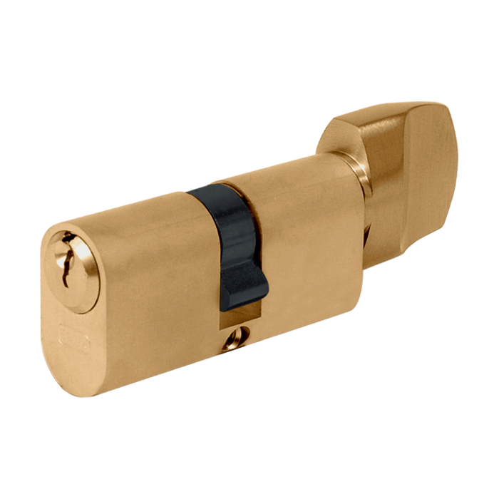 EVVA A5 OKZ Oval Key & Turn Cylinder