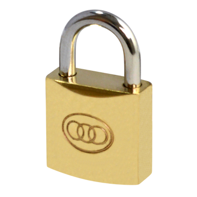 Tricircle 26 Series Brass Open Shackle Padlocks