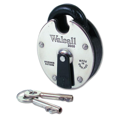 WALSALL LOCKS W2000 5 Lever High Security Padlock