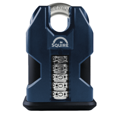 SQUIRE SS50C Stronghold Closed Shackle Recodable Combination Padlock