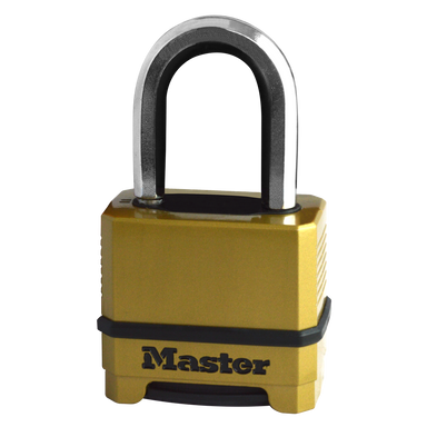 MASTER LOCK M175EUR 4 Digit Combination Thermo Padlock