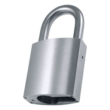 EVVA HPM Open Shackle Padlock Without Cylinder