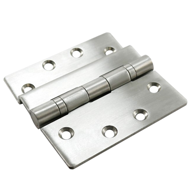 HOOPLY Stainless Steel Container Door Ball Bearing Hinge Z-Profile