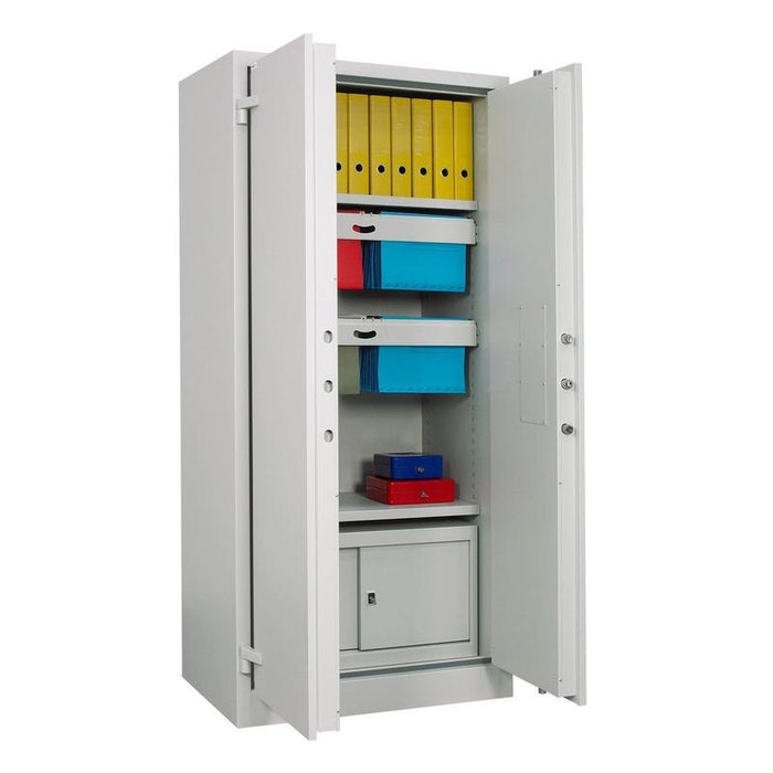 Chubbsafes Archive Cabinet Size 640K Key Locking Cabinet open
