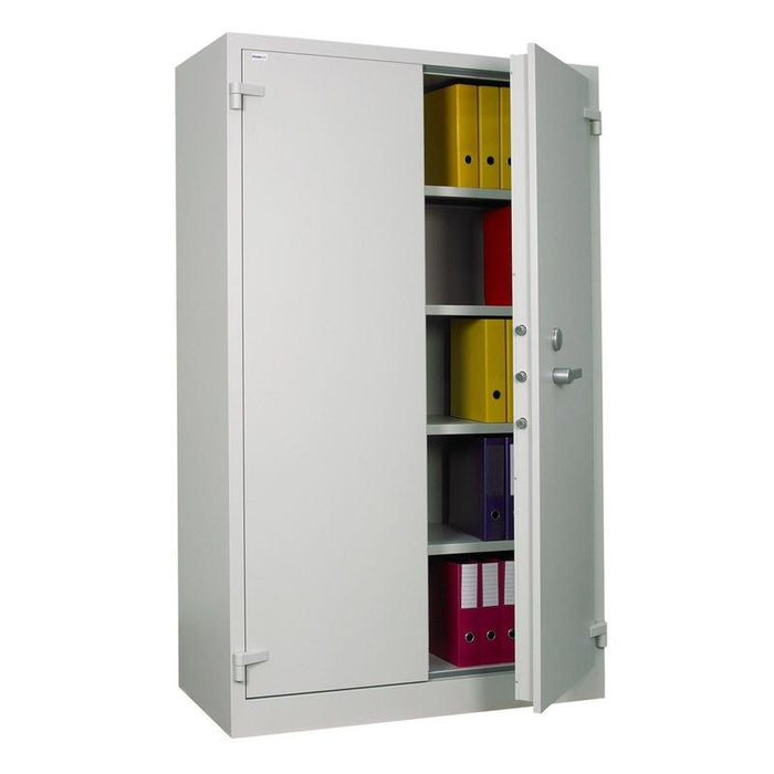 Chubbsafes Archive Cabinet Size 880 Key Locking Cabinet open doors
