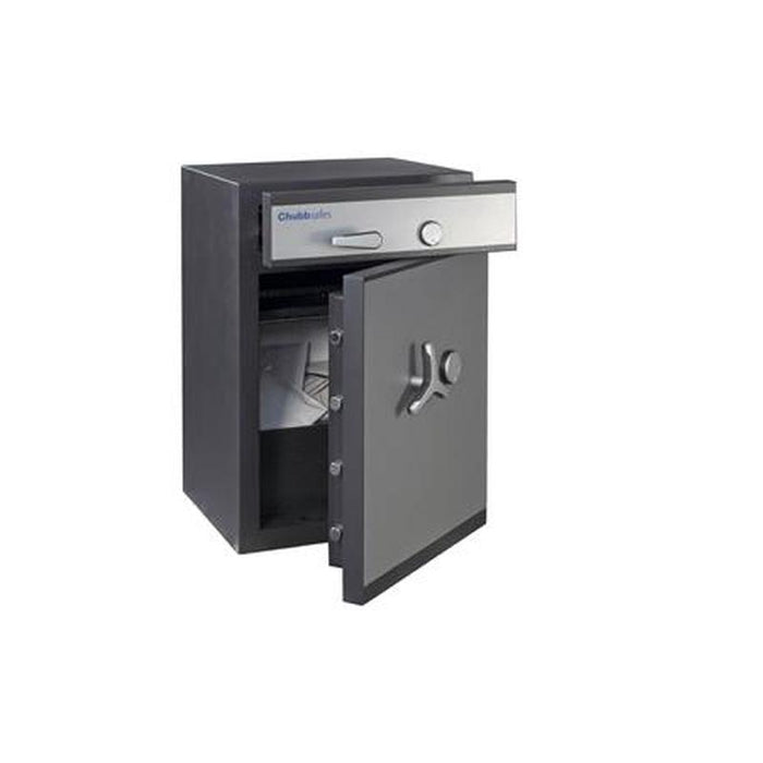 Chubbsafes ProGuard Deposit Grade 2 - 110 Key Locking Deposit Safe drawer and door open