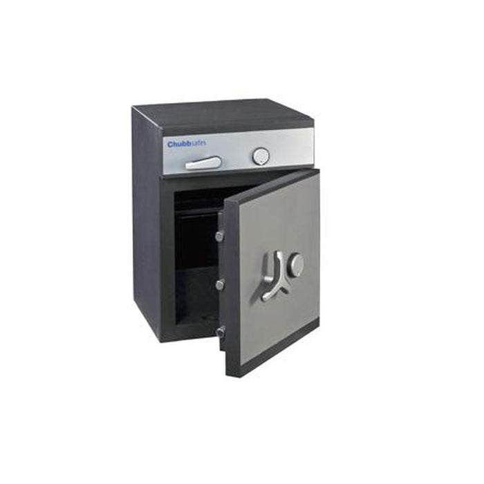 Chubbsafes ProGuard Deposit Grade 1 - 60 Key Locking Deposit Safe with the door open partly