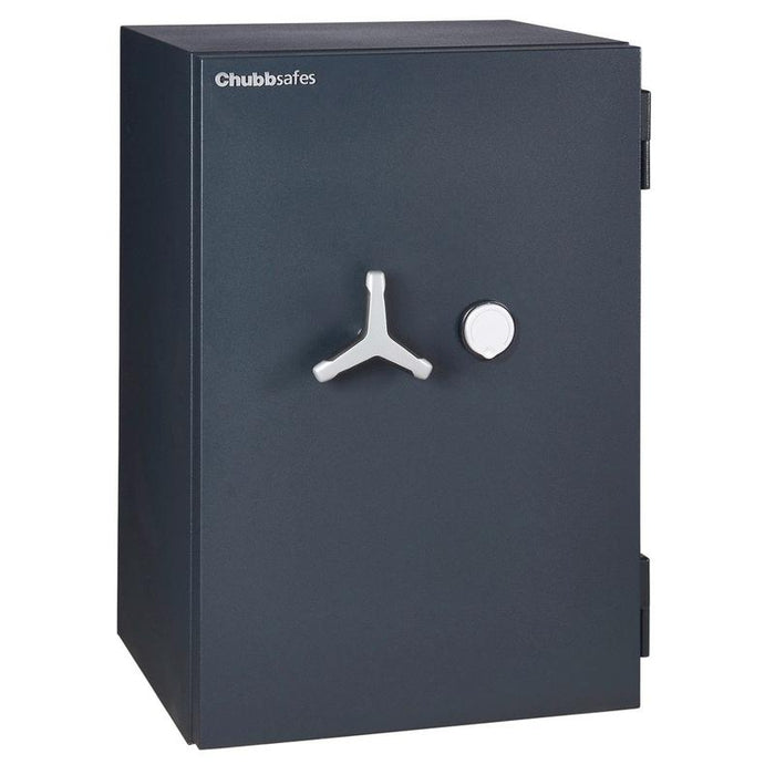 Chubbsafes Duoguard Grade 1 150K Key locking safe door closed