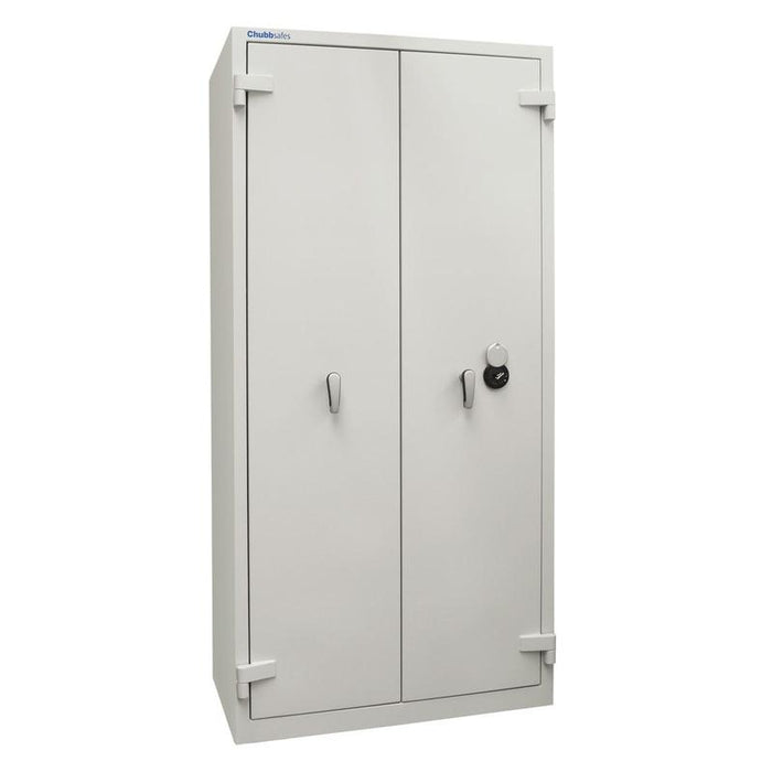 Chubbsafes Duplex 550 Key Locking Fireproof cabinet double door