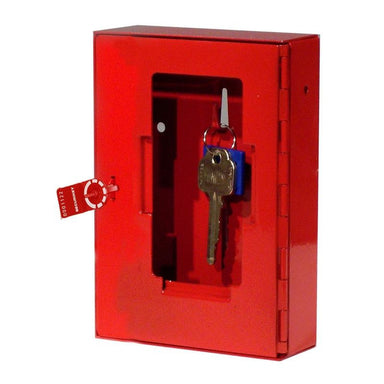 Securikey Glass Fronted Emergency Key Box with Seal and Hammer
