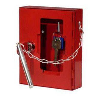 Securikey Emergency Key Box with Cylinder Lock and Hammer