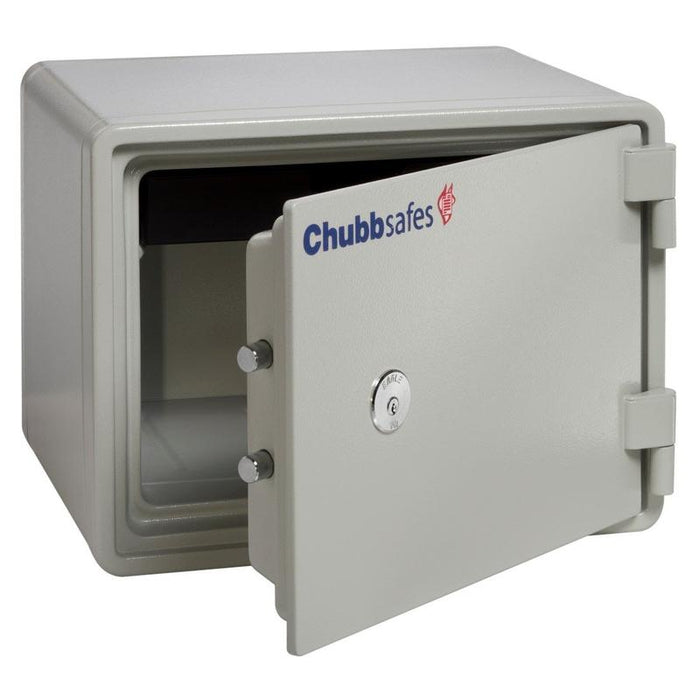 Chubbsafes Executive 15 K Key locking fireproof safe  with door open