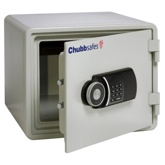 Chubbsafes Executive 25E Electronic Locking Fireproof safe door open