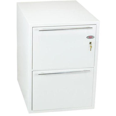 "Phoenix Archivo Fire File 25"" FS2232K Key Locking Filing Cabinet"