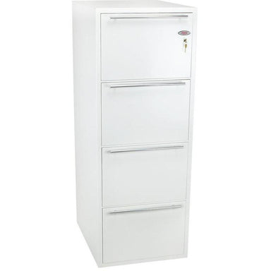 "Phoenix Archivo Fire File 25"" FS2234K Key Locking Filing Cabinet"