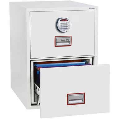 "Phoenix World Class Vertical Fire File 31"" FS2262E Electronic Locking Filing Cabinet"