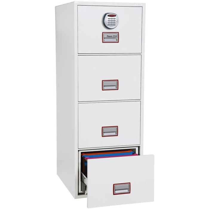 "Phoenix World Class vertical Fire File 31"" FS2264E Electronic Locking Filing Cabinet"