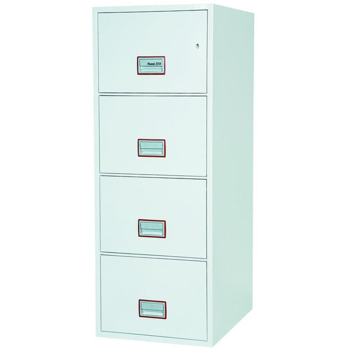 "Phoenix World Class Vertical Fire File 31"" FS2264K Key Locking Filing Cabinet"